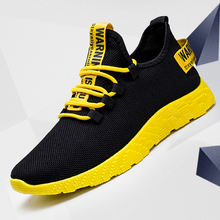 Hot selling new fashion soft breathable mesh men sports shoes