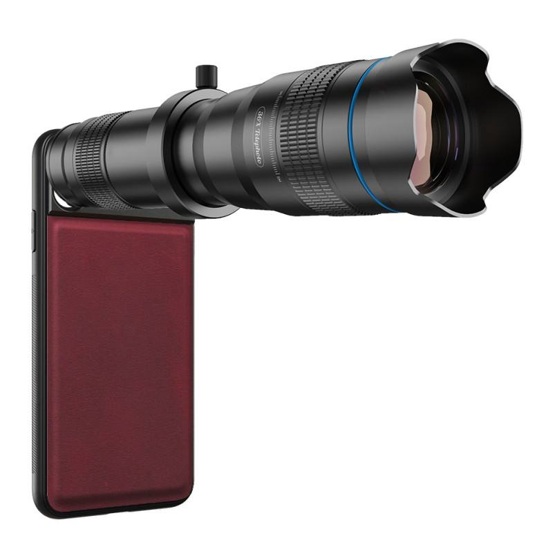 Powerful 36x Zoom Telescope Lens Smart Phone Camera Telephoto Lens With APEXEL JJ04 Tripod Made In China