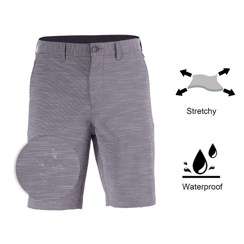 Doger Custom Logo Multi Color Fashion New Design Men's Adult Waterproof Stretch Hybrid Walkshorts All Day Shorts