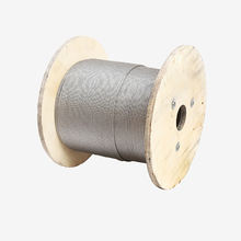 Galvanized steel wire rope 3mm braided rope