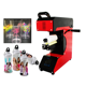 Professional roll machine sublimation heat press for ordinary material mugs pen all in 1 upgraded roller heat press AP1825