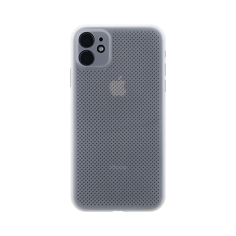 Factory price cooling breathable mesh mobile phone accessories for iPhone 12 Pro heat dissipation case