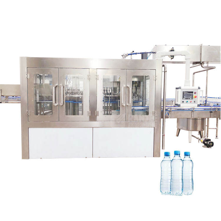 Small mineral water plant / bottle water filling line