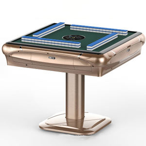 Automatic Mahjong Table Folding Ultra-thin 4 Outlet Tiles Automatic Mahjong Tables Machine