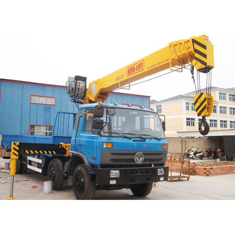 Hydraulic Mobile Crane Load Chart with Boom for Truck