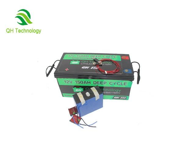 Lithium Ion Battery For Solar system Prismatic Cells 12v 150ah Lifepo4 Lithium Electric Car Battery