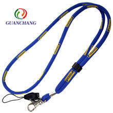 lanyard factory custom fashion Polyester breakaway rope Lanyard