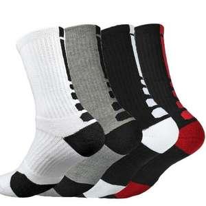 Wholesale custom logo elite crew basketball socks