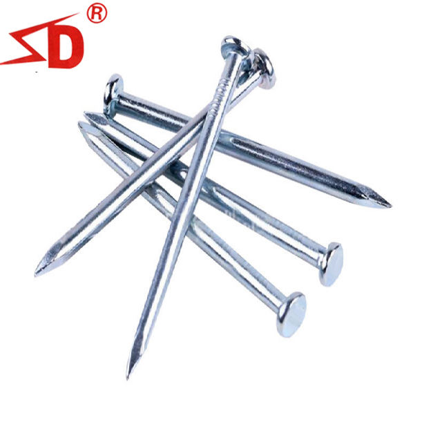 Good price and high quality SliverWhite galvanized concrete steel nail