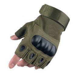 Wholesale Breathable Anti-Slip Shock-Absorbing Riding Cycling Bike Gloves Half Finger Men Women Outdoor Adventure Gloves