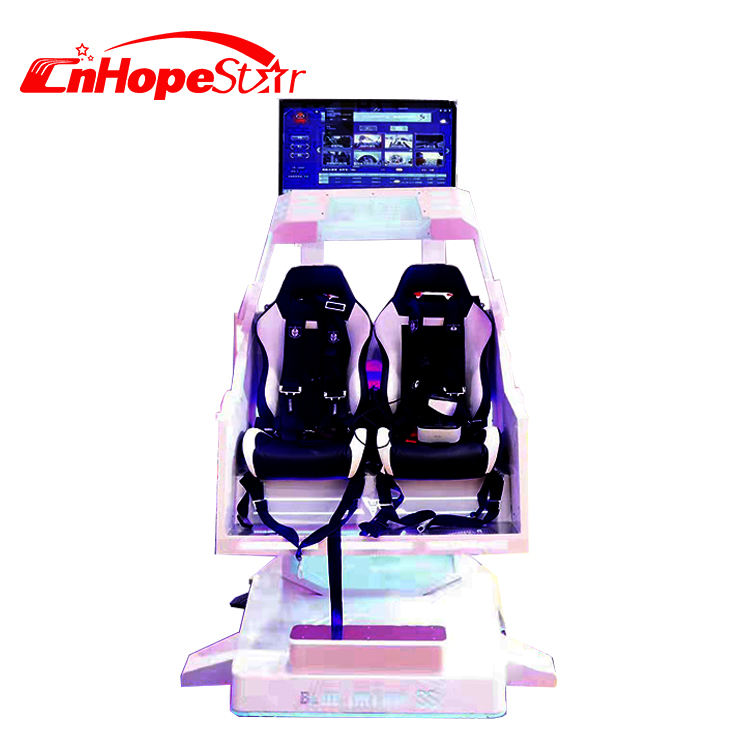 Exciting 2 seats vr chair flying simulator Roller Coaster 720 Degree Flying Game Simulator Equipment for game center