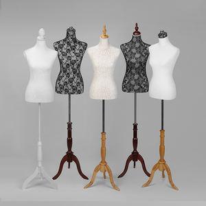 Full Body Adjustable Tailoring Female Mannequin Half Body