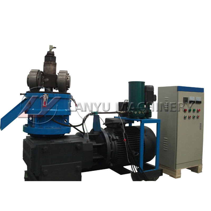 2019 lanyu Small Capacity Wood Pallet Machine/Small Wood Pellet Mill/Manual Pellet Press
