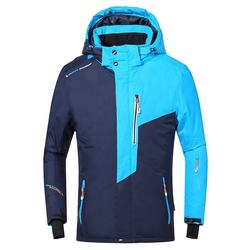 Men Outdoor Windbreak Softshell Ski Jacket Waterproof Plus S