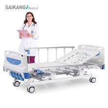 F4w Beautiful 4 Crank Manual Hospital Patient Clinic Bed For Sick