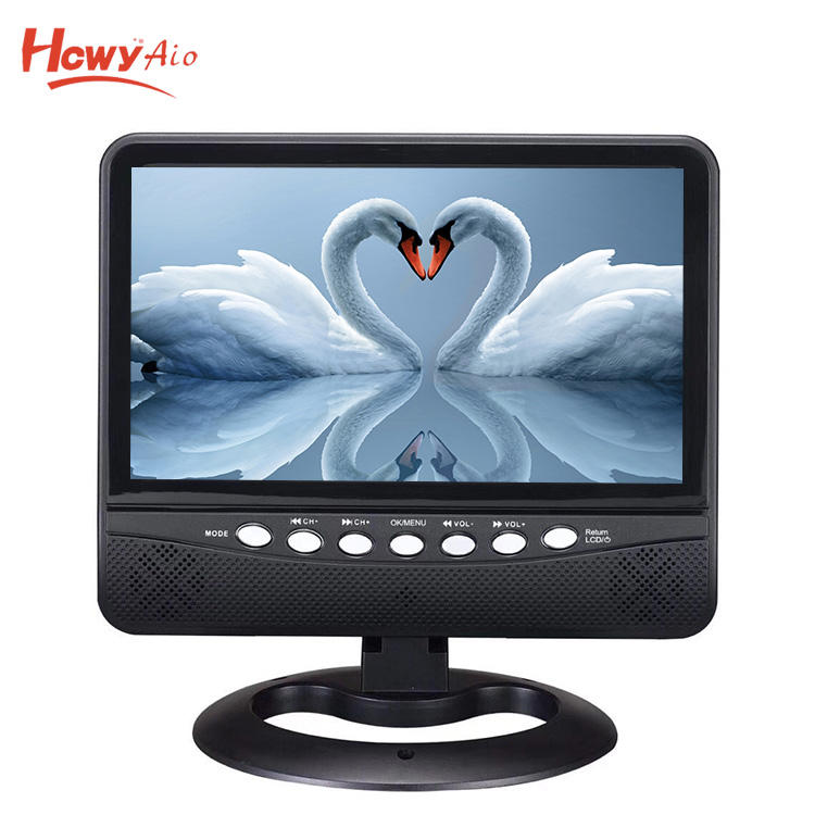 New 7inch Mini Portable TV With Radio Small LED TV 3 Years Guarantee. CE & RoHs Certificate