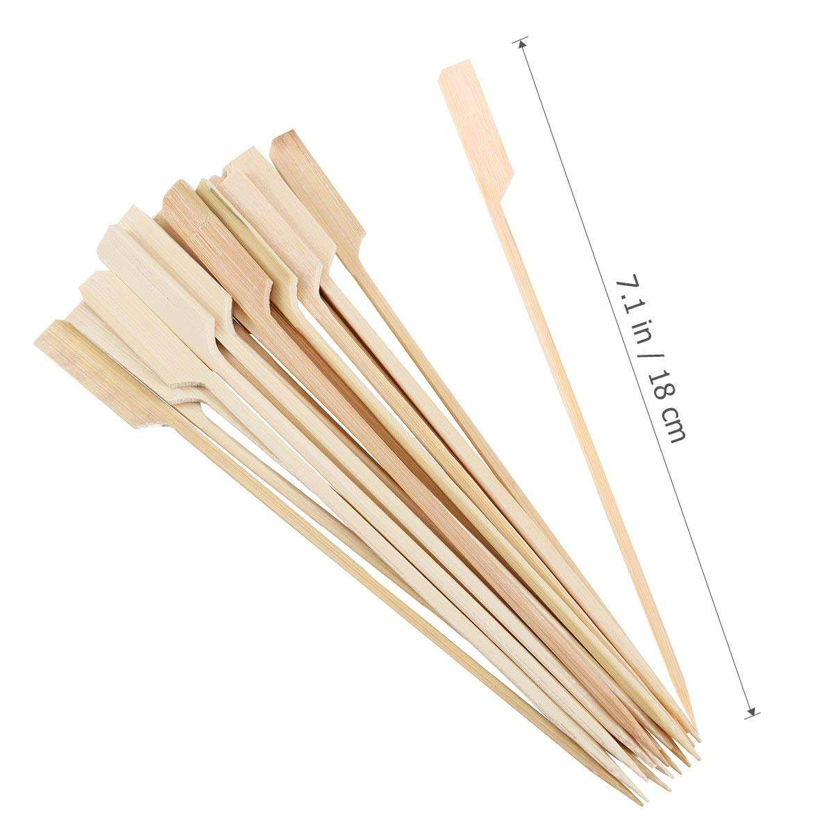China factory manufacture bamboo and wooden bbq skewer