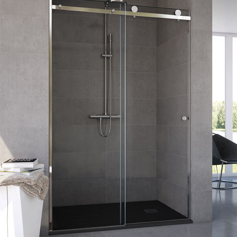 Hot sell 2020 new products Modern sliding shower doors 8mm lowes shower enclosures