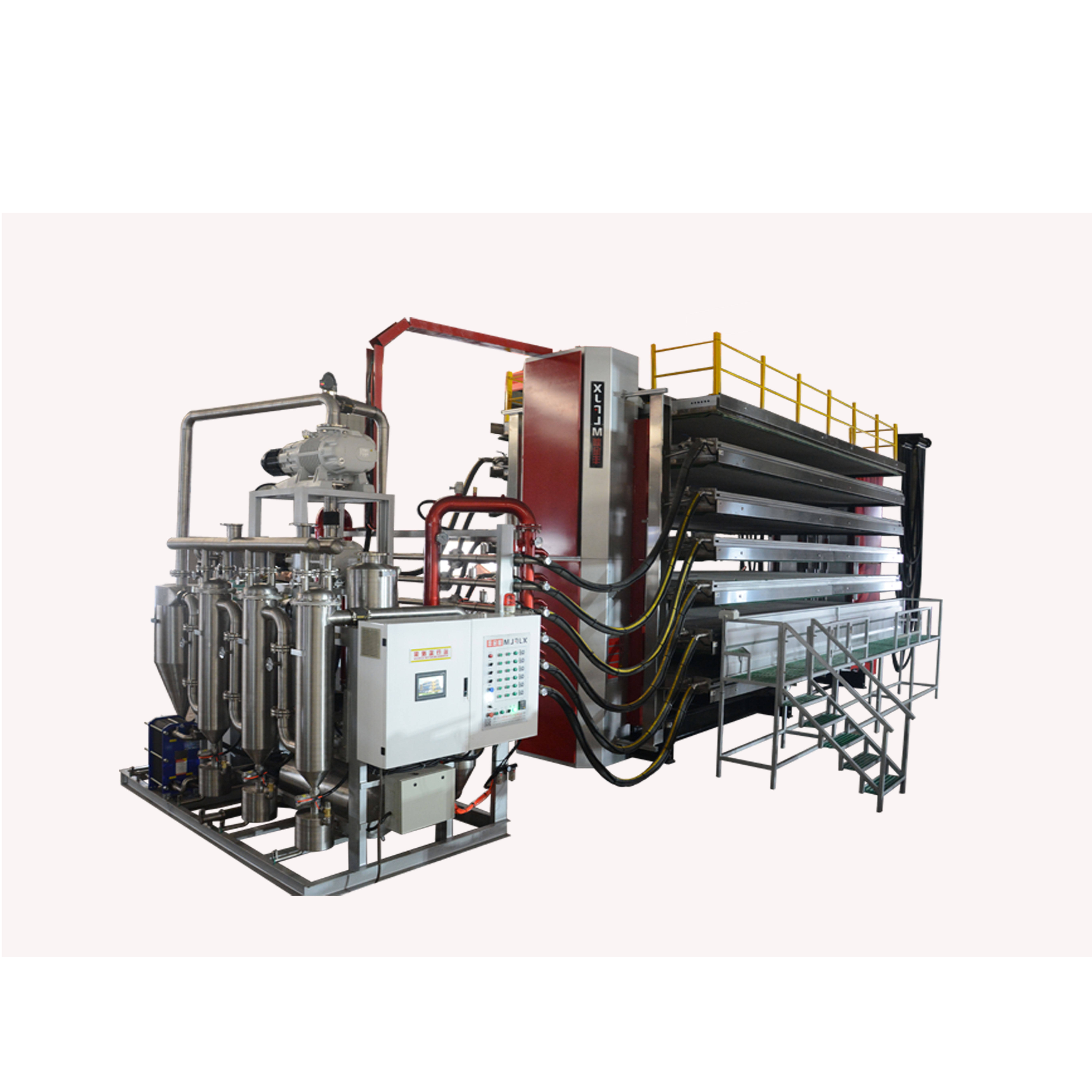 6-plate leather vacuum dryer machine for tannery china products manufacturers The Latest model