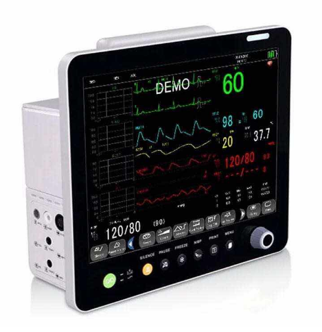 High Quality multi-parameter Neonates Children Adults Cardiac Patient Monitor for hospital