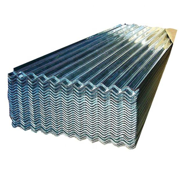 Factory Wholesale Zinc Galvanized Corrugated Metal Roofing Steel Sheet Price