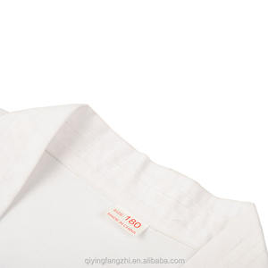 High quality white martial arts karate uniform suits