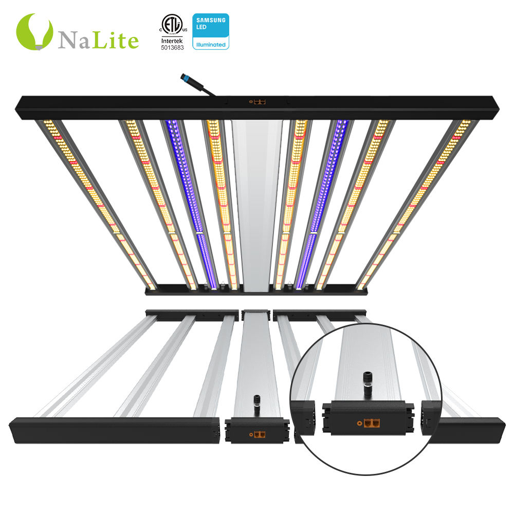 2020 Nalite Samsung Lm301B Lighting Plant Growing Full Spectrum Uv Ir 600W LED Grow Light