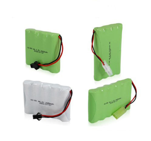 Wholesale Ni-MH AA 4.8V 6V 7.2V 9.6V 2000mAh aa rechargeable nimh battery pack with wire connector for power tools