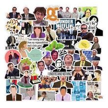 Amazon 50Pcs The Office TV Movies Films Sticker Waterproof Laptop Skateboard Luggage Custom Cartoon Printing Stickers