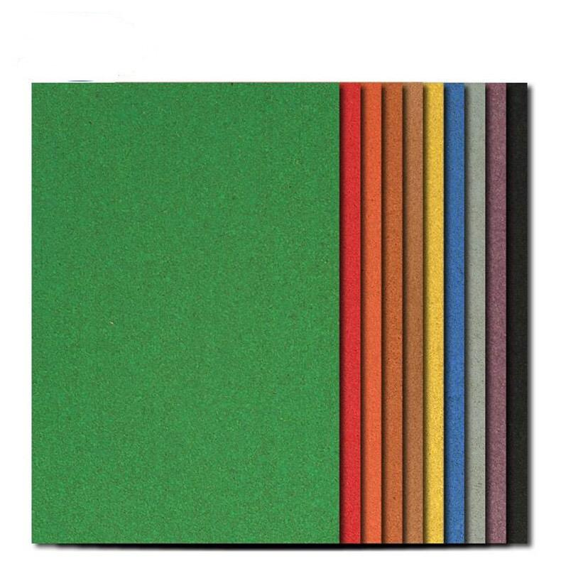 8MM color gum rectangular cork board photo wall bulletin board cork message board