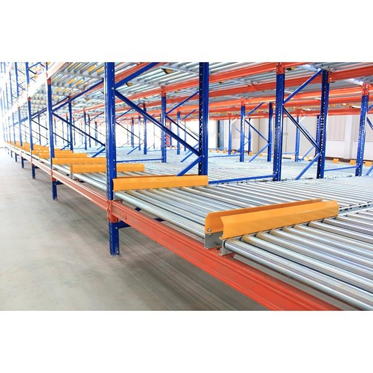 Factory Price Safety Adjustable Easy Assemble Storage Flow Pallet Rack