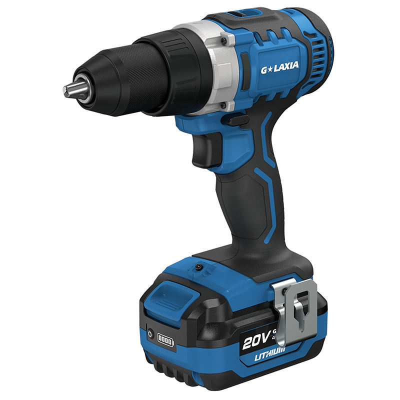 Top Selling 20V Brushed cordless 50N.m 13mm chuck 2 speed drill driver