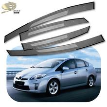 Mosun auto accessories factory door visor for PRIUS 2009 2012 2015 window visor for PRUIS Rain shield for XW30 2012
