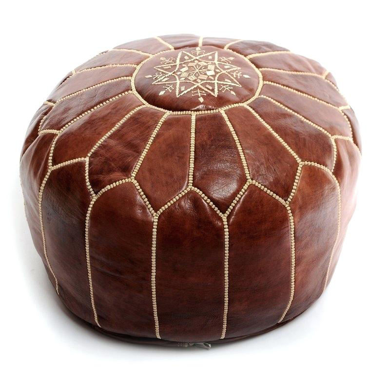 wholesale moroccan decor furniture outdoor pouf ottoman