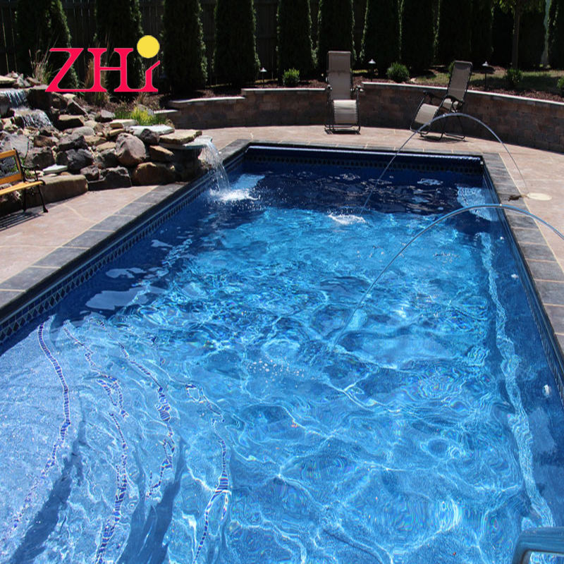 Inground Outdoor Indoor Fiberglass Swimming Pools Different Size Available for Choosing