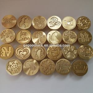 China Factory Customized Brass Head Personalized Wax Seal Stamp with Logo