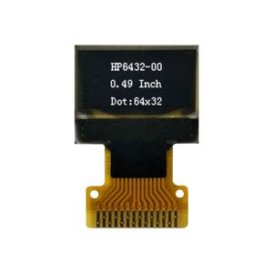 64x32 dot matrix 0.49 inch OLED display