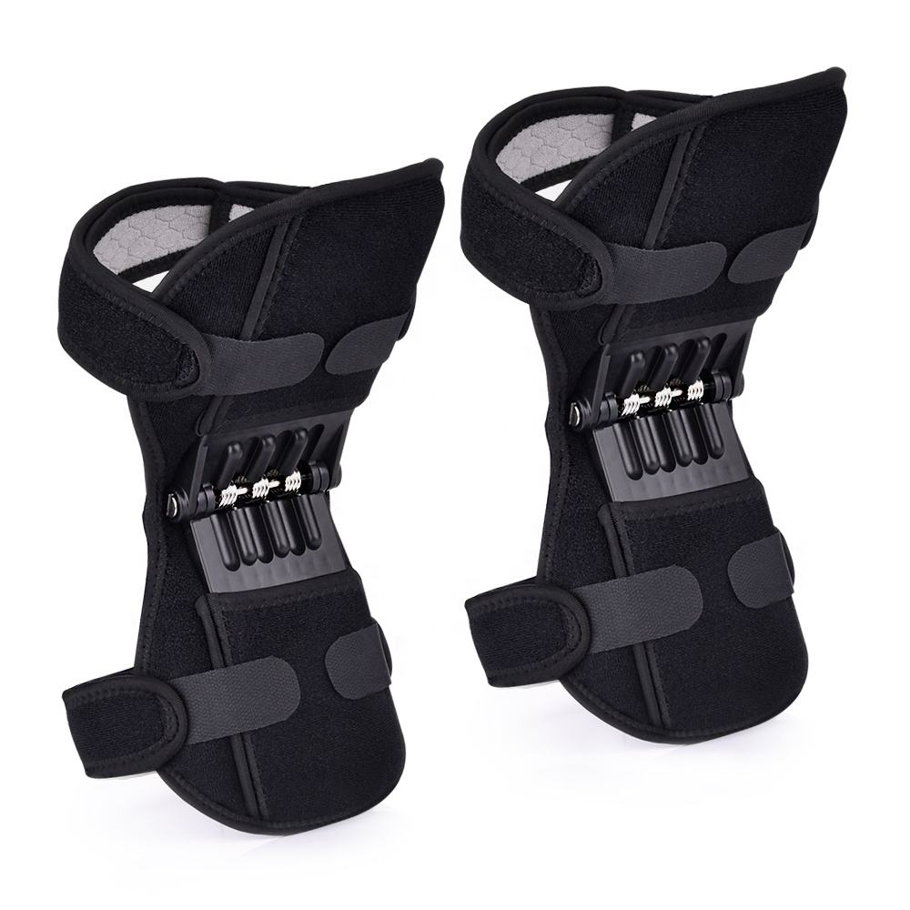 Outdoor Breathable Non-slip Climbing Pad Stabilizer Joint Support Powerful Rebound Spring Power Lifts Knee Protection Booster