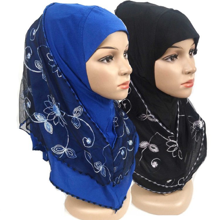 Hot selling turban cotton and linen headscarf ready goods new design veil malaysia hijab