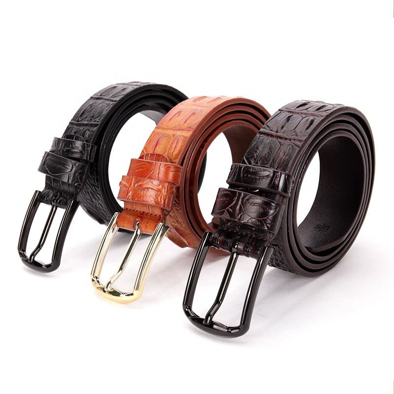 BM1 unique luxury design christmas birthday belt gift handcrafted brown leather men belt