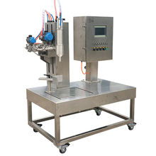 1 Gallon 10 Litre Drum Liquor Filling Machine 10 KG Filling Liquid Firm