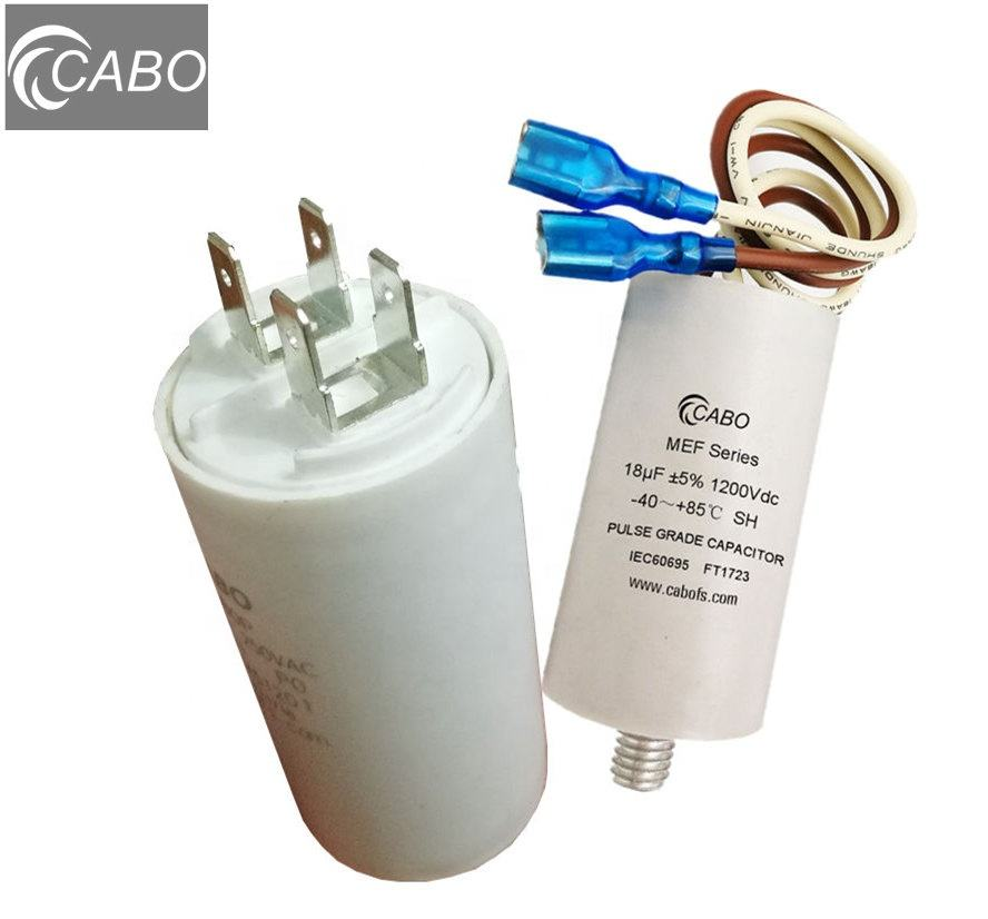 Energy storage pulse capacitors 6.0uF 1200Vdc capacitor 6 uf 50uF Electric Fence