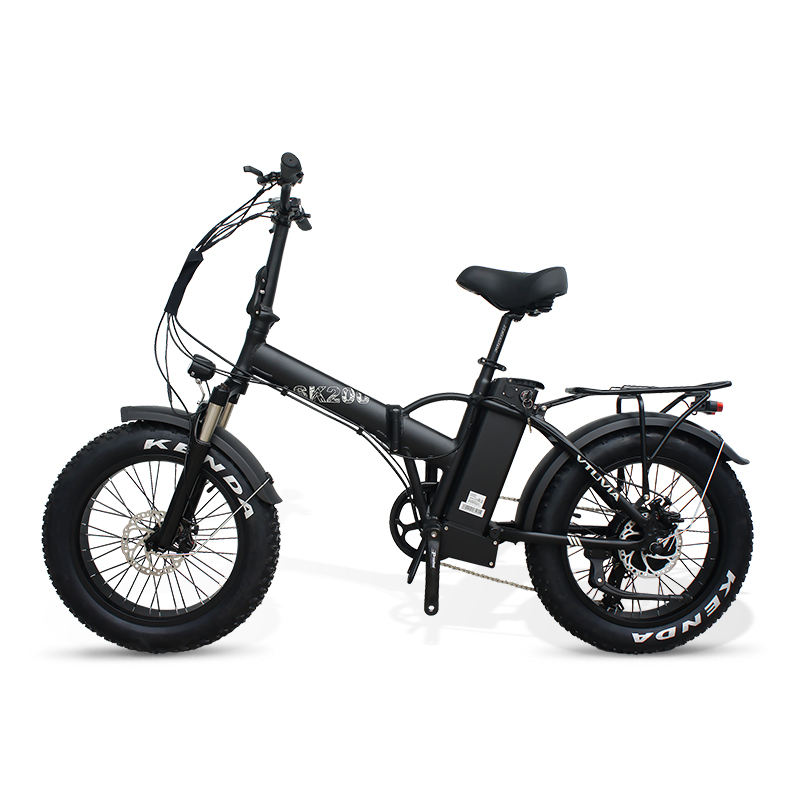 European warehouse foldable electric bicycle 750w 500w 13ah fat tire electric bike folding ebike