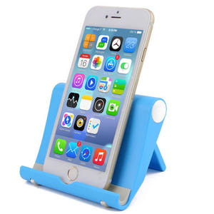 Mobile phone accessories custom logo print OEM Abs universal potable desk cell phone holder