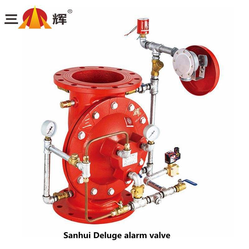 Sanhui fire rescue equipment diaphragm type deluge alarm valve