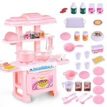 High Quality Cheap Interactive Kids Toys Pretend Play Mini Kitchen Sets