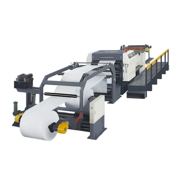 [JT-CM1700A-1]Full Automatic 1 rolle Servo Precision High Speed Paper Roll To Sheet Cutting Machine