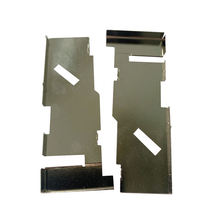 hardware mold stamping pcb shielding can EMI shield case/metal stamping parts aluminum shielding case