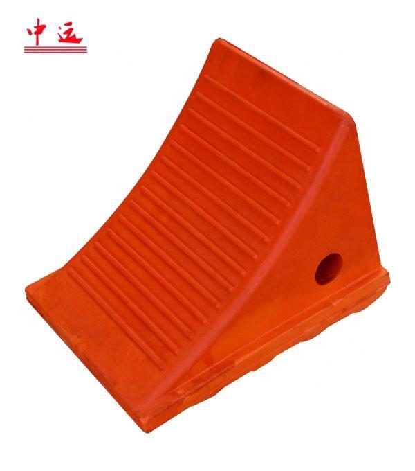 30 T безопасности дорожного движения оранжевый уретан колеса Chock