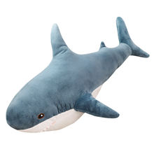 Custom Soft Stuffed Sea Animal Shark Plush Toy